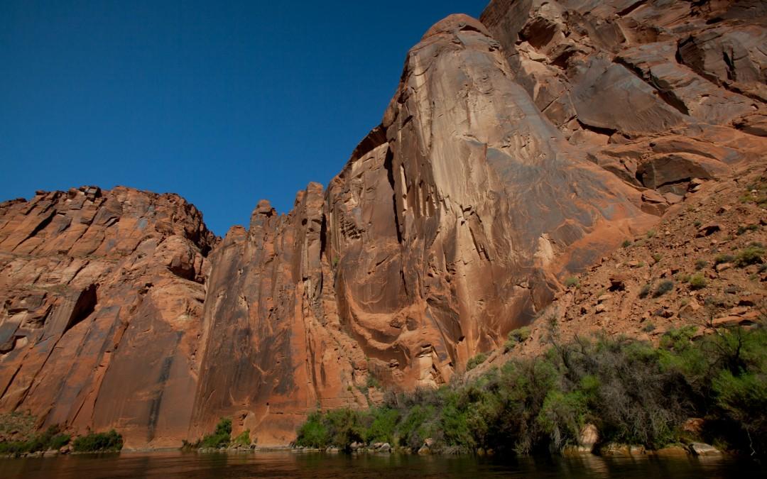 Colorado River's calm waters.