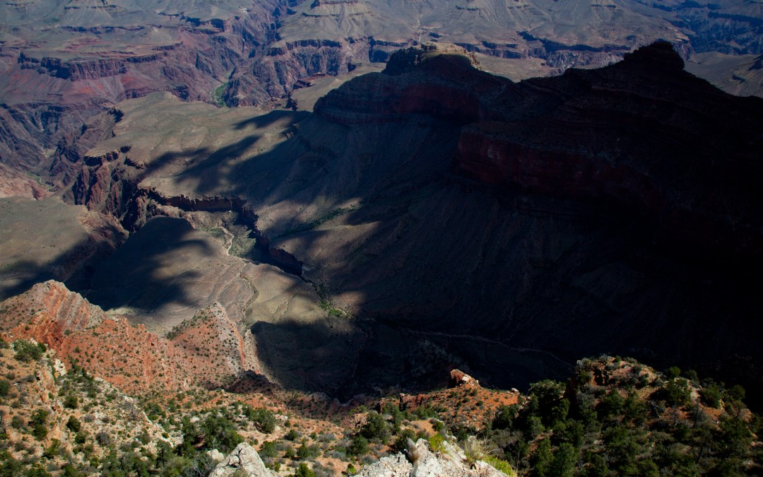 View from Grand Canyon's south rim.