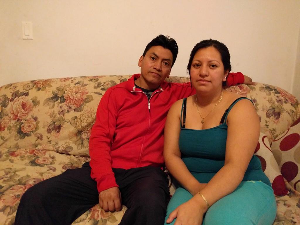 Romeo Chuc y Sara Alvarado, tíos de Deisy