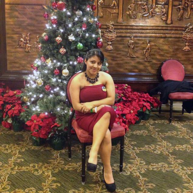 La última foto de Deisy García (cortesía de la familia García)