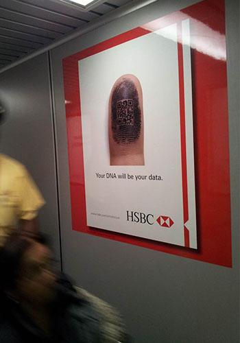 Huella hsbc