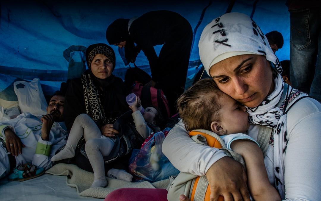 Buscando refugio para mis hijos