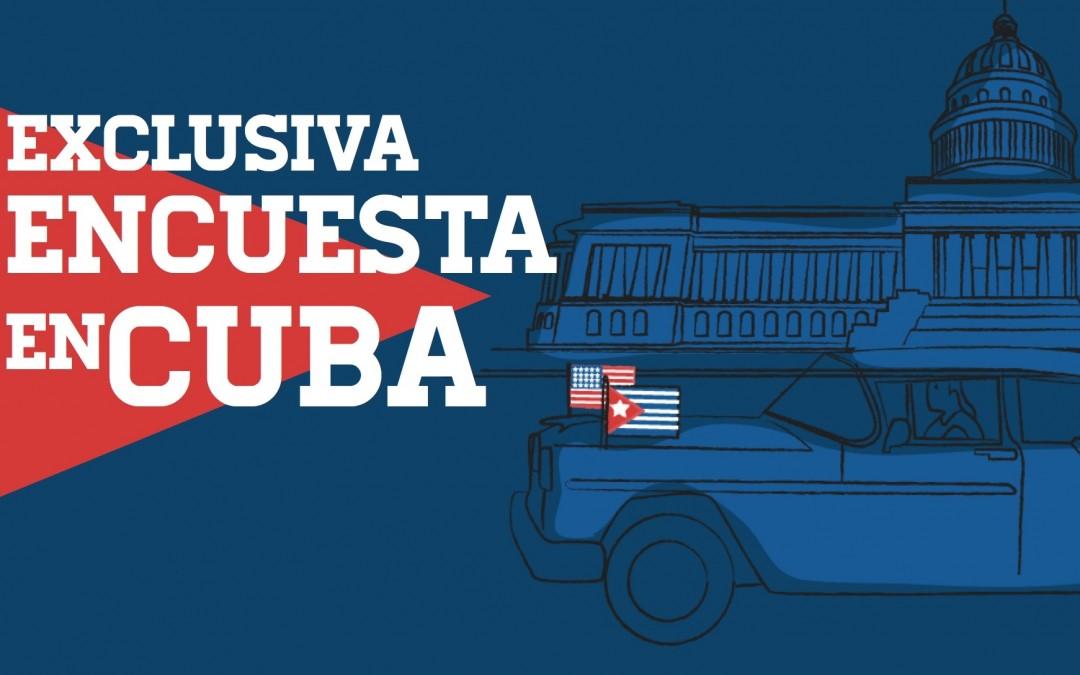 Exclusiva: encuesta en Cuba